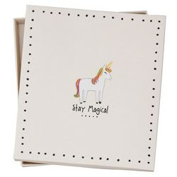 Natural Life Unicorn Stay Magical Sante Fe Trinket Dish