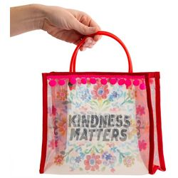 Natural Life Kindness Matters Small Market Tote