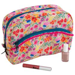 Natural Life Wildflowers Cosmetic Bag