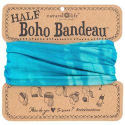 Natural Life Womens Turquoise Blue Half Boho Bandeau