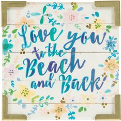 Natural Life Love You To The Beach & Back Magnet