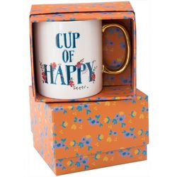 Natural Life Cup Of Happy Boxed Mug