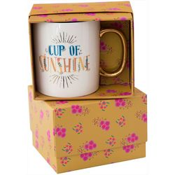 Natural Life Cup Of Sunshine Boxed Mug
