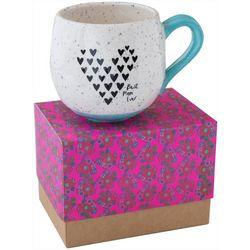 Natural Life Best Mom Ever Heart Boxed Mug