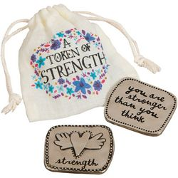 Natural Life Giving Token Of Strength & Bag