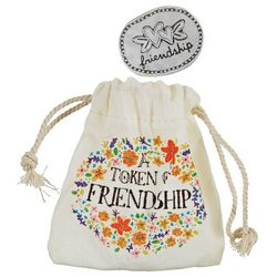 Natural Life Friendship Token & Drawstring Bag