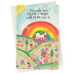 Natural Life Unicorn Enamel Pin Card