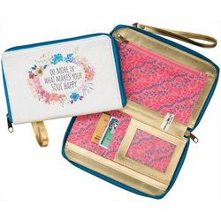 Natural Life Do What Makes Your Soul Happy Wrislet Wallet