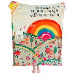 Natural Life Believe In Magic Cozy Blanket