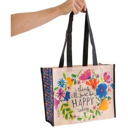 Natural Life Large Be Happy Today Gift Bag