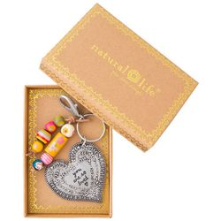Natural Life Boxed You Are So Loved Keychain