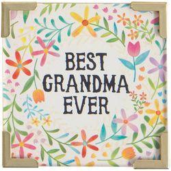 Natural Life Best Grandma Ever Magnet
