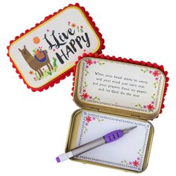 Natural Life Llama Llive Happy Prayer Box