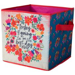 Natural Life Best Day Ever Storage Bin