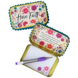 Natural Life Have Faith Prayer Box