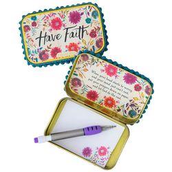 Natural Life Have Faith Prayer Box