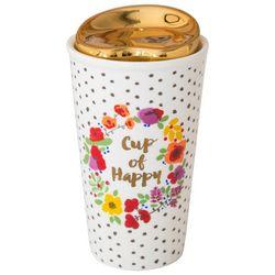 Natural Life Cup Of Happy Thermal Mug