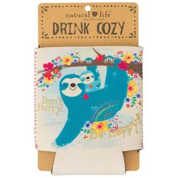 Natural Life Don't Hurry Be Happy Drink Cozy