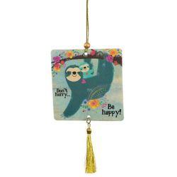 2-pk. Sloth Don't Hurry Be Happy Air Fresheners