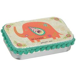 Natural Life Elephant Be Happy Prayer Box