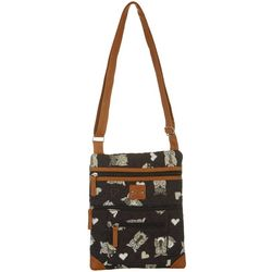 Stone Mountain Lockport Quilted Owl Handbag