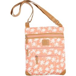 Stone Mountain Coral Palm Lockport Handbag