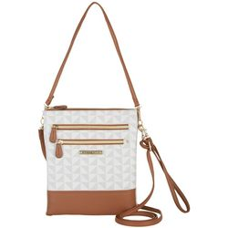 Stone Mountain Leather Pebble Windmill Crossbody Handbag