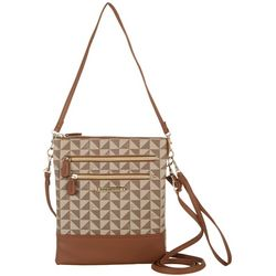 Stone Mountain Pebble Windmill Crossbody Handbag