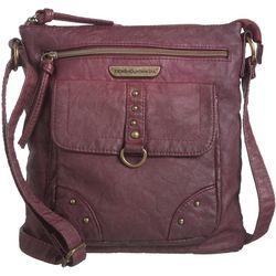 Stone Mountain Smoky Mountain Front Zip Crossbody Handbag