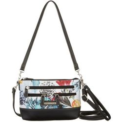 Stone Mountain Floral 4 Bagger East West Crossbody Handbag