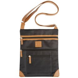 Stone Mountain Nylon Lockport Crossbody Handbag