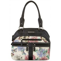 Stone Mountain Garden Party Satchel Handbag