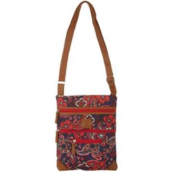 Stone Mountain Paisley Lockport Crossbody Handbag