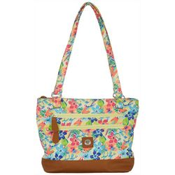 Stone Mountain Tropical Quilted Donna Tote Handbag
