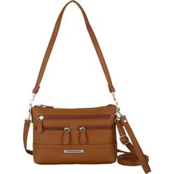 Stone Mountain Solid 4 Bagger East West Crossbody Handbag