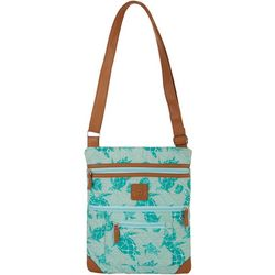 Stone Mountain Seafoam Turtle Crossbody Handbag