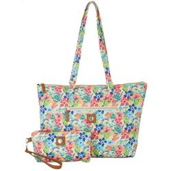 Stone Mountain Quilted Paisley Tote Handbag