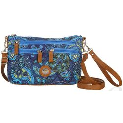 Stone Mountain Quilted East West Three Bagger Handbag