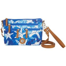 Stone Mountain Quilted Starfish Three Bagger Handbag