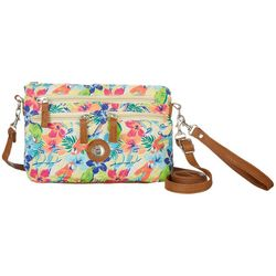 Stone Mountain Quilted Tropical Handbag