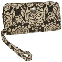 Stone Mountain Printed Zip Around Quilted Wallet