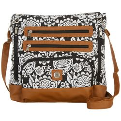 Stone Mountain Batik Quilted Super Crossbody Handbag