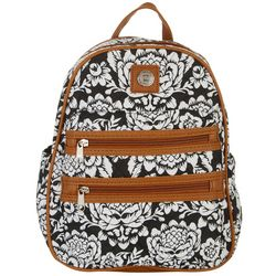 Stone Mountain Batik Double Zipper Mini Backpack