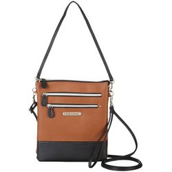 Stone Mountain Leather Pebble Crossbody Handbag