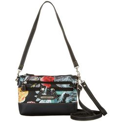 Stone Mountain Plugged In Floral 4 Bagger Crossbody Handbag