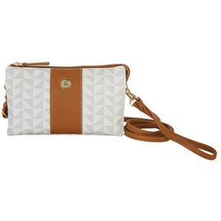 Stone Mountain Triangle Pattern Trifecta Handbag