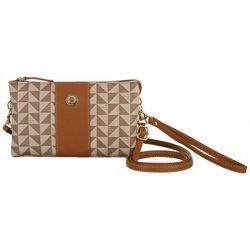 Stone Mountain Triangle Pattern Trifecta Handbag