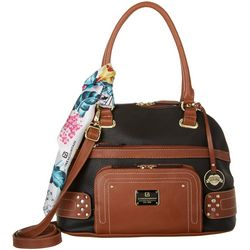 Stone Mountain Plugged In 40th Anniversary Satchel Handbag