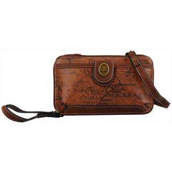 B.O.C. Voyage Zipper Crossbody Wallet