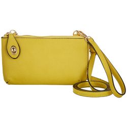 Jen & Co Solid Kendal Crossbody Handbag